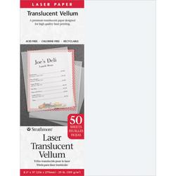 Strathmore Laser Translucent Vellum tulostukseen, 50 arkkia