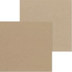 Doodlebug skräppipaperi Kraft Dot Stripe