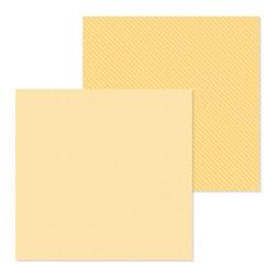 Doodlebug skräppipaperi Lemon Dot Stripe
