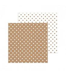 Doodlebug skräppipaperi Kraft Swiss Dot