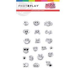 PhotoPlay leimasinsetti Smiley Faces, No Pun Intended