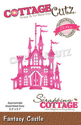 CottageCutz stanssi Fantasy Castle