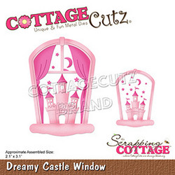 CottageCutz stanssi Dreamy Castle Window