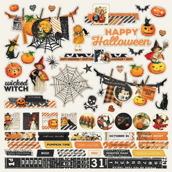 Simple Stories tarra-arkki Simple Vintage Halloween