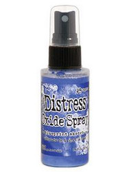 Distress Oxide -suihke, sävy blueprint sketch