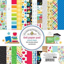 Doodlebug School Days -paperipakkaus