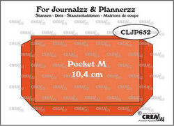 Crealies stanssisetti Journalzz & Plannerzz Pocket Medium
