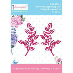 Dress My Craft stanssisetti Flower Making-Foliage & Leaves #10
