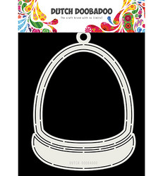 Dutch DooBaDoo Card Art Snowdome -sapluuna