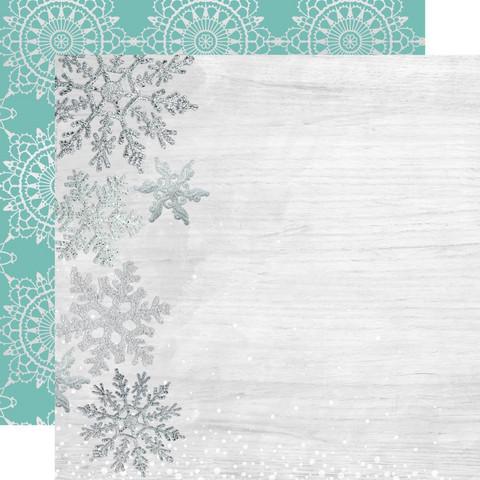 Kaisercraft Let It Snow skräppipaperi Delightful