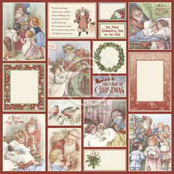 Pion Design A Christmas To Remember skräppipaperi Santa Delivers