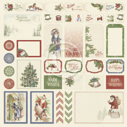 Pion Design A Christmas To Remember skräppipaperi Cut Outs I