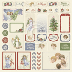 Pion Design A Christmas To Remember skräppipaperi Cut Outs II
