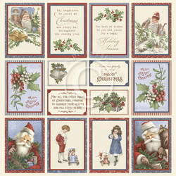 Pion Design Images From The Past skräppipaperi A Christmas To Remember I