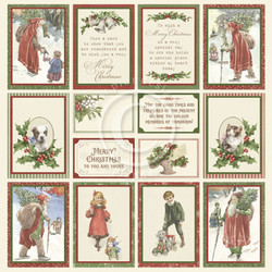Pion Design Images From The Past skräppipaperi A Christmas To Remember II