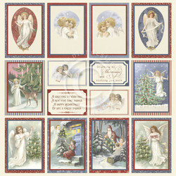 Pion Design Images From The Past skräppipaperi A Christmas To Remember III