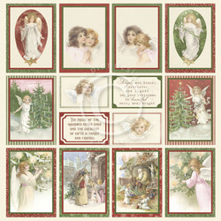 Pion Design Images From The Past skräppipaperi A Christmas To Remember IV