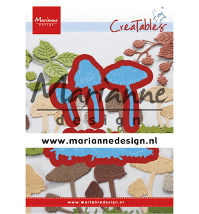 Marianne Design stanssisetti Tiny's Mushrooms