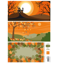 Marianne Design Eline's Autumn Backgrounds -korttikuvat