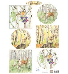Marianne Design Tiny's Autumn -korttikuvat