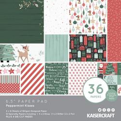 Kaisercraft paperikko Peppermint Kisses, II-laatu