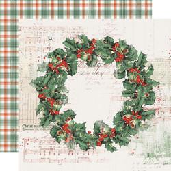 Simple Stories Country Christmas skräppipaperi Christmas Magic