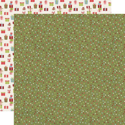 Simple Stories Holly Jolly skräppipaperi Seasons Greetings