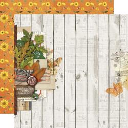 Simple Stories Autumn Splendor skräppipaperi Fall Blessings