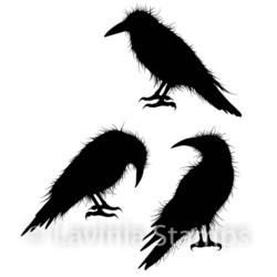 Lavinia Stamps leimasisetti Crow