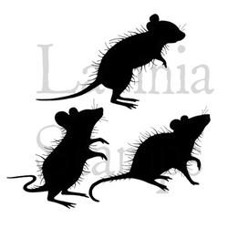 Lavinia Stamps leimasisetti Three Woodland Mice