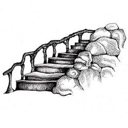 Lavinia Stamps leimasin Fairy Steps