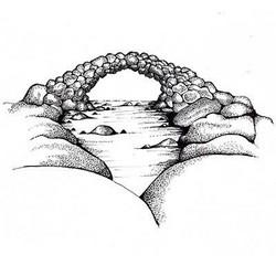 Lavinia Stamps leimasin Fairy Bridge
