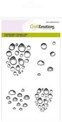 CraftEmotions leimasinsetti Water Drops