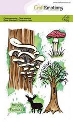 CraftEmotions Carla Creaties leimasinsetti Magic Forest 2