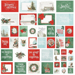 Simple Stories Country Christmas Sn@p! Card Pack, leikekuvat