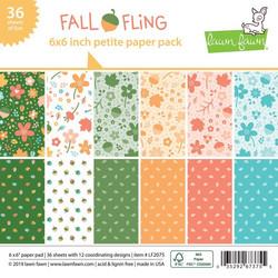 Lawn Fawn paperipakkaus Fall Fling