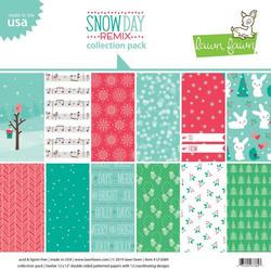 Lawn Fawn paperipakkaus Snow Day Remix 12