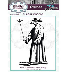Creative Expressions Andy Skinner Plague Doctor -leimasin