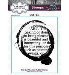 Creative Expressions Andy Skinner Coffee -leimasin