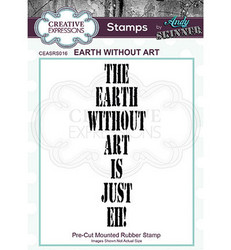 Creative Expressions Andy Skinner Earth Without Art -leimasin