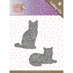 Amy Design Cat's World stanssisetti Sweet Cats