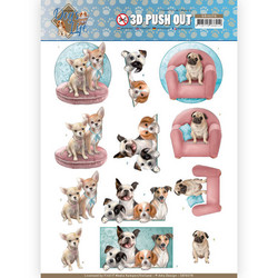 Amy Design Dog's World 3D-kuvat All Kind Of Dogs