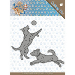Amy Design Dog's World stanssisetti Playing Dogs