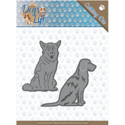 Amy Design Dog's World stanssisetti Sitting Dogs