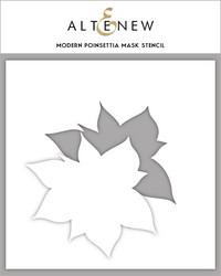Altenew maski- ja sapluunasetti Modern Poinsettia