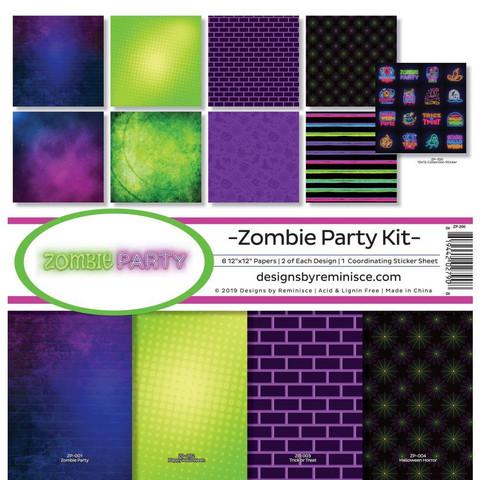 Reminisce Zombie Party -paperipakkaus 12