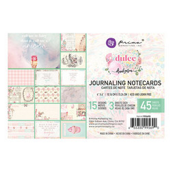 Prima Dulce Journaling Cards,  4