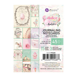 Prima Dulce Journaling Notecards,  3