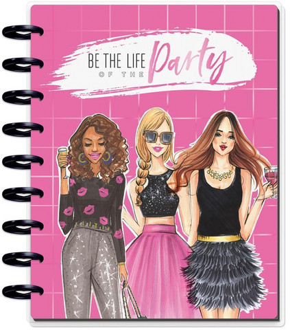 Mambi Happy Planner 12-Month Dated Classic Planner -kalenteri, Rongrong, Life of the Party