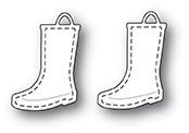 Memory Box Stitched Rain Boots -stanssisetti